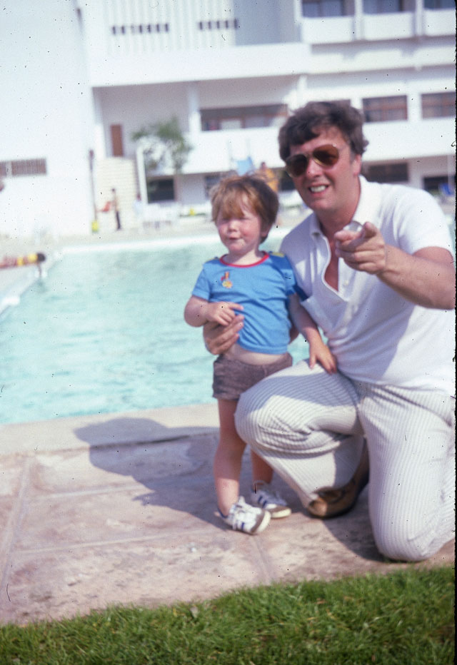 My first holiday. 1980.
